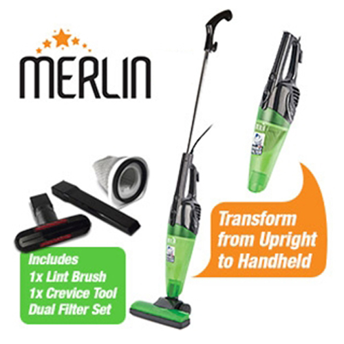 Merlin 2 in 1 Mini Vacuum Cleaner